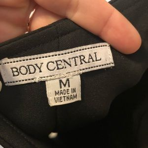 Body Central Dresses - One shoulder bodycon dress